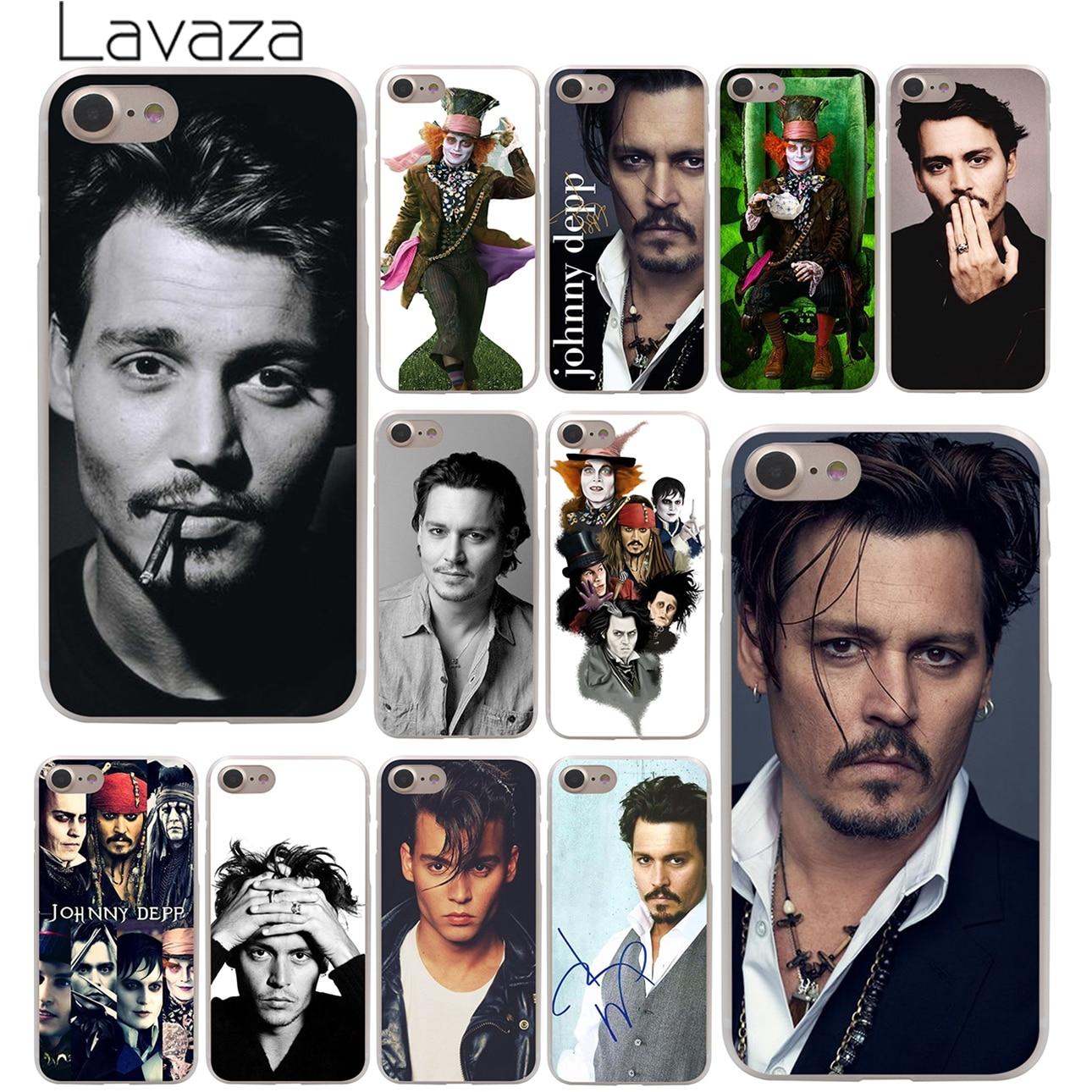 Lavaza johnny depp Hard Phone Cover Case for Apple iPhone 10 X 8 7 6 6s Plus 5 5S SE 5C  ...