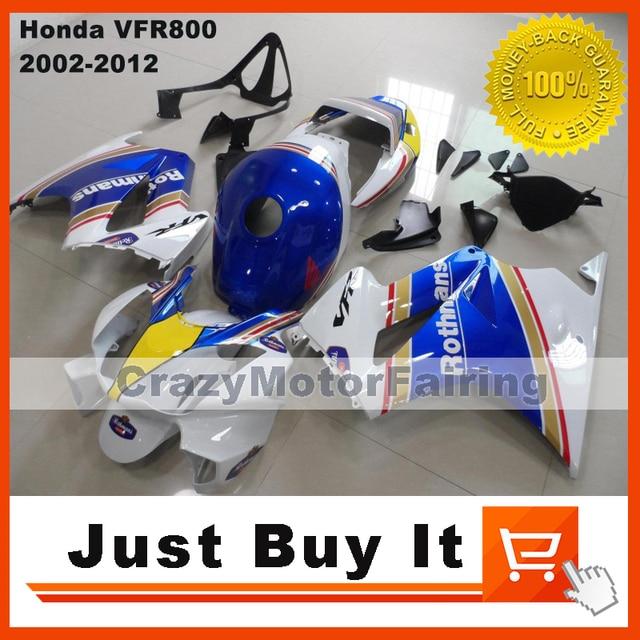 Rothmans For Honda Vfr 800 2002 2003 2004 2005 2006 2007