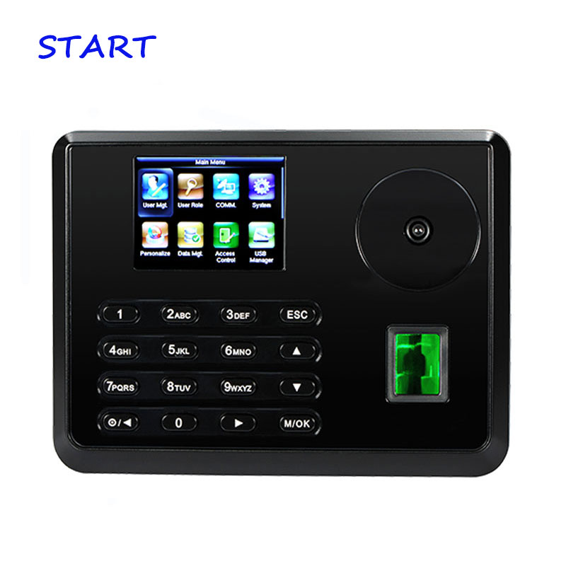 ZK P160 Palm Time Attendance Biometric Fingerprint Employee Attendance Time Clock