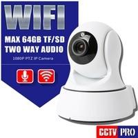 HD 1080P PTZ Wi-fi IP Camera Security IR 8M Night Vision Two Way Audio CCTV Surveillance 2MP WIFI IP Camera Wireless P2P