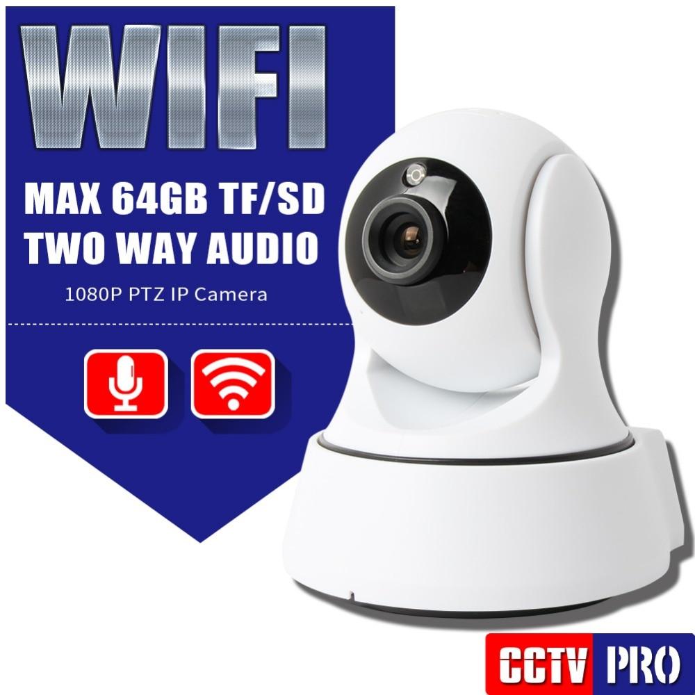 Buy HD 1080P PTZ Wi-fi IP Camera Security IR 8M Night Vision Two Way Audio CCTV Surveillance 2MP WIFI IP Camera Wireless P2P