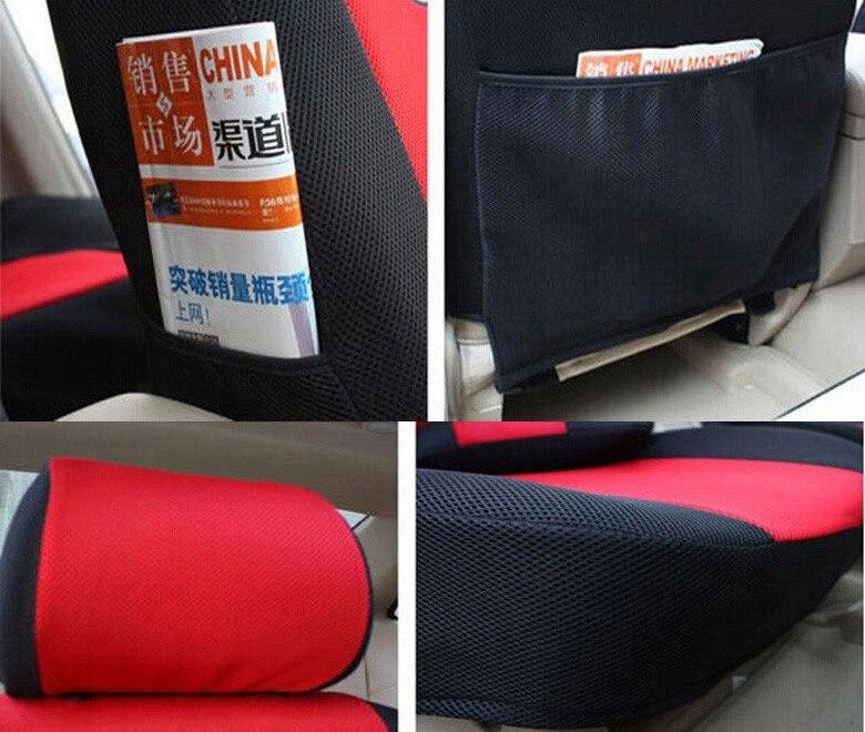 2 ön oturacaq Universal Avtomobil oturacaqları üçün - Avtomobil daxili aksesuarları - Fotoqrafiya 6