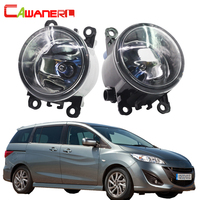 Cawanerl For Mazda MPV II LW 1999 2006 2 Pieces H11 100W Car Light Halogen Fog
