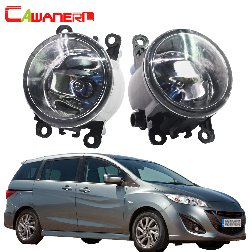 Cawanerl For Mazda MPV II (LW) 1999-2006 2 Pieces H11 100W Car Light Halogen Fog Light Daytime Running Lamp DRL 12V High Power cawanerl 2 x car led fog light drl daytime running lamp accessories for nissan note e11 mpv 2006