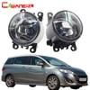 Cawanerl For Mazda MPV II LW 1999 2006 2 Pieces H11 100W Car Light Halogen Fog