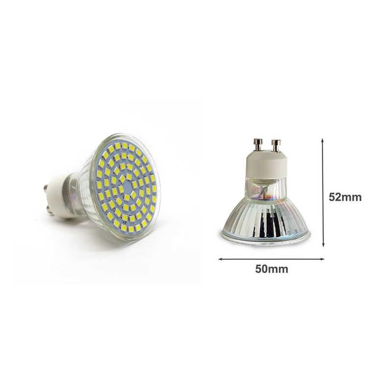 LUCKYLED Brand Bombillas LED bulb Spot light 3W 4W 5W 6W SMD 2835 / 5730 GU10 led Spotlight AC110V 220V for home Lampada lamp