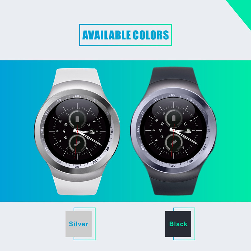 US $19 89 |Hot sale CE ROHS smart watch manual oem Y1 bluetooth smart watch  with whatsapp twitter facebook-in Smart Watches from Consumer Electronics