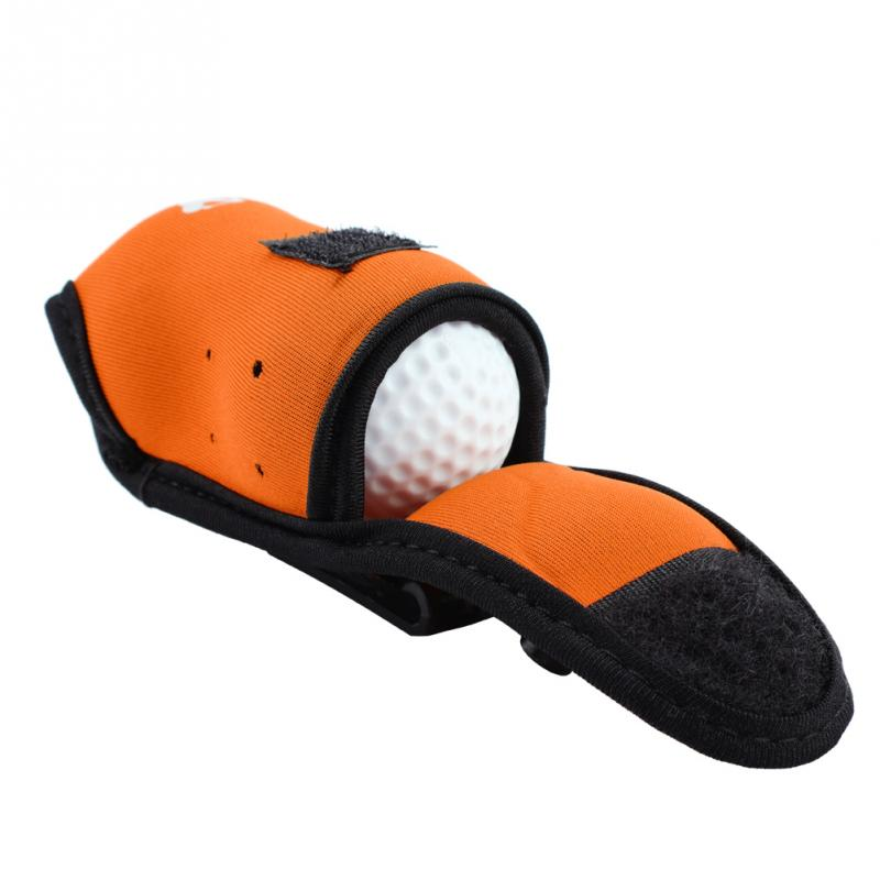 3 Colors Elastic Mini Golf Bags with Hook Can Hold 2 Balls and 4 Golf Tees Outdoor Golf Training Small Golf Ball Bags