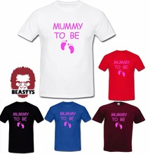 MUMMY TO BE daddy dad funny present pregnant father mother mum t shirt New T Shirts Funny Tops Tee Unisex