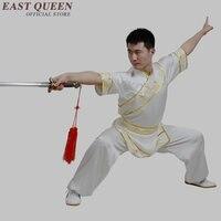 Ушу костюмы мужской Роскошный Одежда для кунг фу форма Высокое качество шаолин Кунг Фу KK2397