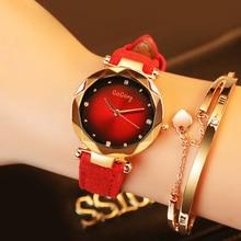 women's watch 2018 Gogoey Brand Watches Women Ladies Dress Personality Romantic Crystal Designer Quartz Wristwatches reloj mujer