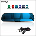 4.3 Inch LCD 1080P Rear View Mirror Car DVR Night Vision Car Dash Camera H.264 Video, Dual Lens Vehicle Travelling Data Recorder