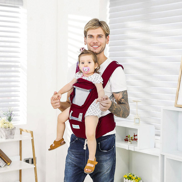 2019 Baby Carrier Ergonomic Carrier Backpack Hipseat for newborn and prevent o-type legs sling baby Kangaroos