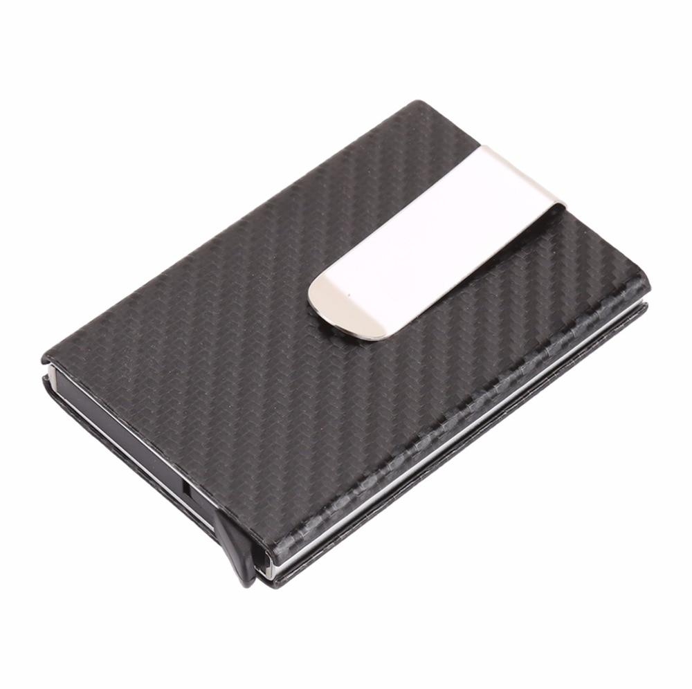 Artmi Business Card Case RFID Blocking Men Wallet Carbon Fiber ...