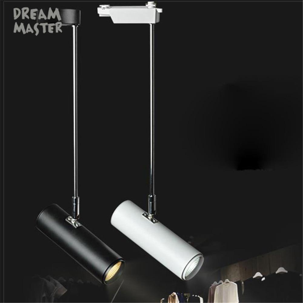 Moderne Kunst tracking lichter cob led decke track strahler lampe ...