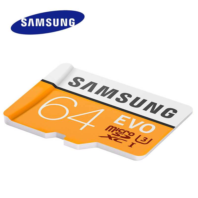 2017 Samsung Speicherkarte Evo Max Lesegeschwindigkeit 100 Mt/s Micro Sd 64 Gb U3 Klasse 10 Microsdxc Karte C10 Uhs-i-mikro-sd Trans Flash Microsd Karte Herausragende Eigenschaften