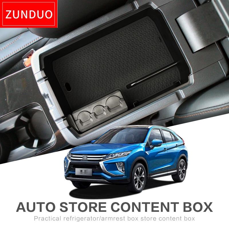 2019 Mitsubishi Eclipse Cross: ZUNDUO Car Central Armrest Box For MITSUBISHI ECLIPSE