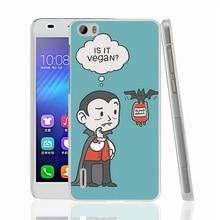 """Super funny """"Vegan Vampire"""" phone case for Sony Xperia z2 z3 z4 z5 mini plus aqua M4 M5 E4 E5 C4 C5"""