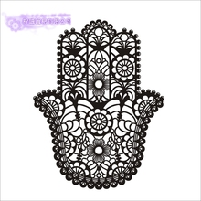 DCTAL Hand Yoga Wandaufkleber Buddha Zitate Namaste Wandtattoo Fr Wohnzimmer DIY Wohnkultur Kunst Wandbild Dekoration