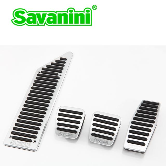 Savanini Car Pedal Pad For Buick Excell / Chevrolet Cruze MT With No Screw! Aluminum Alloy! You can design your own LOGO!