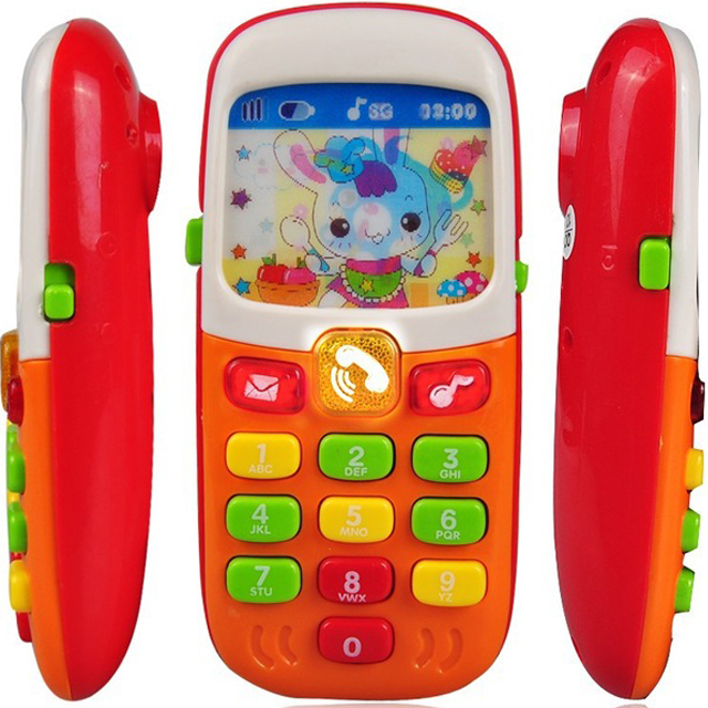 New Electronic educational toy Phone For Kids Baby Mobile elephone Educational Learning Toys Music Machine Toys For Children ZJD