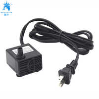 AC 110V 5W (320L/H) Submersible Pump mini water pump For Household aquarium small fountain system US plug