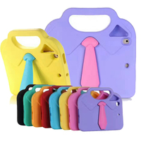 For IPad Air 1 2 Pro 9 7 Case Cute Tie Kids Baby Safe Armor Shockproof