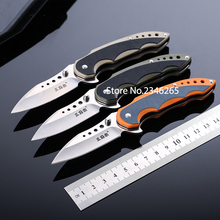 High Quality Folding Blade Knife Outdoor Survive Camping Hunting Multifunction Knife High Hardness Sharp Fruit Knife free shippi