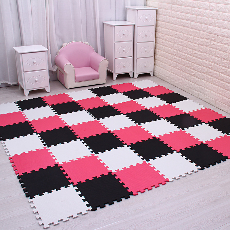 9 30pcs lot baby EVA Foam Interlocking Exercise Gym Floor play mats rug Protective Tile Flooring