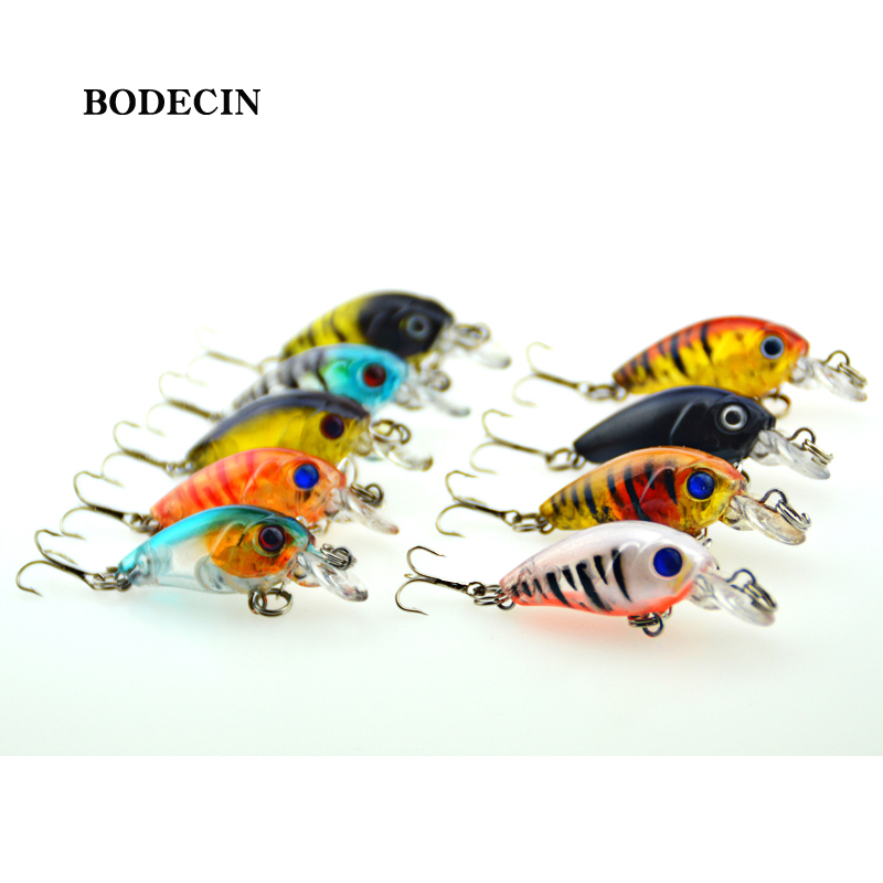 Fishing Lures Wobbler Lure Artificial Bait Peche For Fish Small Hard Crankbaits With Hooks Tackle Crank Bait 4.5cm-4g Sea (14)