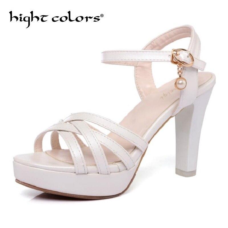 Mode Cheville Plate Chaussures 34 Talons pink D'été 43 Femme Dames white Sandales De Partie green Taille Grande forme Douce Femmes Sangle Black Hauts qtZZTY