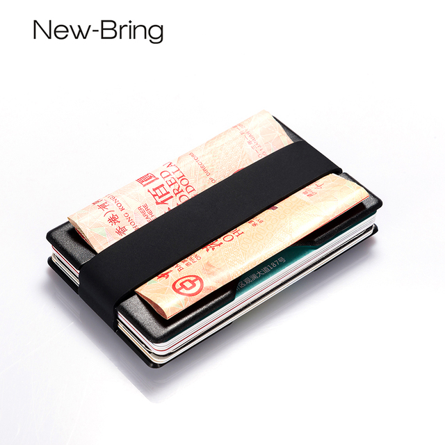 newbring smart slim credit card id holders business card wallet man holder for radix one - Business Card Wallet