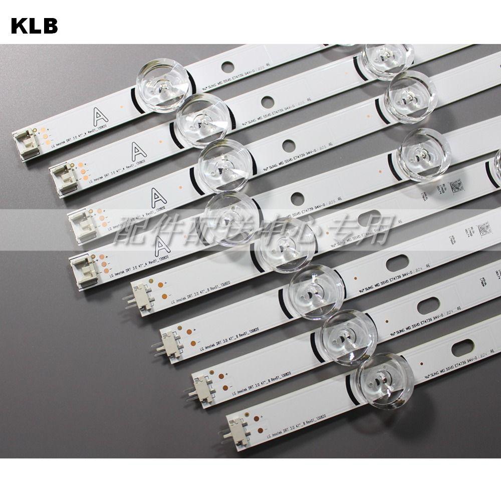 8pcs x LED Backlight Lamp Strip for LG 47 TV innotek DRT 3 0 47 47LB6300