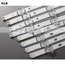 """8 Uds x tira de lámpara de luz de fondo LED para LG 47 """"TV innotek DRT 3,0 47"""" 47LB6300 47GB6500 47LB652V 47lb650v LC470DUH 47LB5610"""