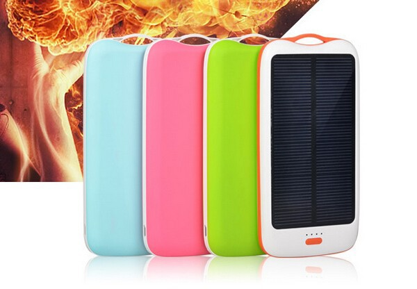 solar power bank 11000 mah 6p