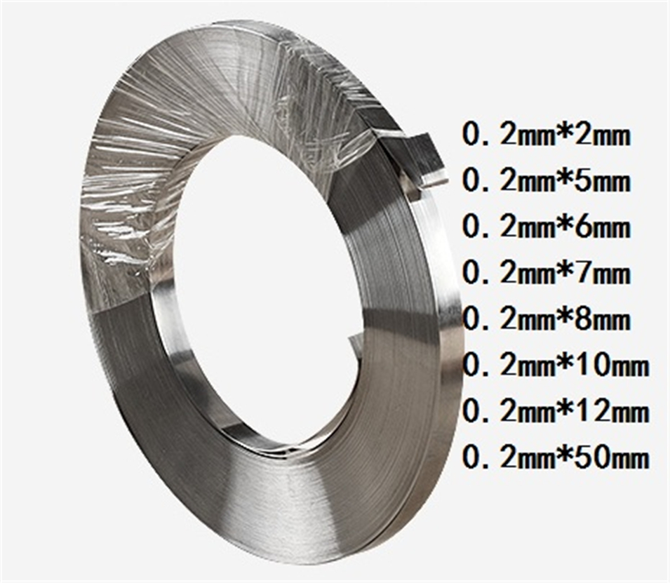 1kg 0.2mm * 7mm Pure Nickel Plate Strap Strip Sheets 99.96% pure nickel for Battery electrode electrode Spot Welding Machine1kg 0.2mm * 7mm Pure Nickel Plate Strap Strip Sheets 99.96% pure nickel for Battery electrode electrode Spot Welding Machine
