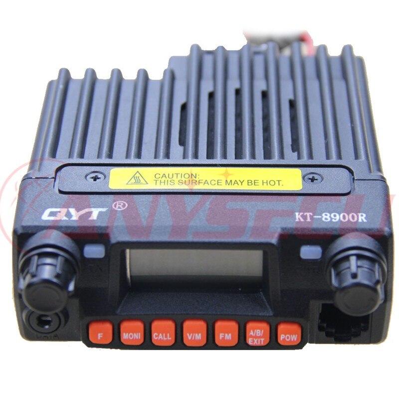 Kupon !!! Ny QYT KT-8900R KT8900R Mini Mobil Radio Tri Band 136 ~ 174MHz og 240-260MHz og 400 ~ 480MHz med billig pris Gratis fragt