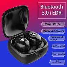 KAYINUO XG12 TWS Bluetooth 5,0 наушники стерео беспроводные HIFI Звук спортивные наушники зарядка через Usb гарнитура наушники