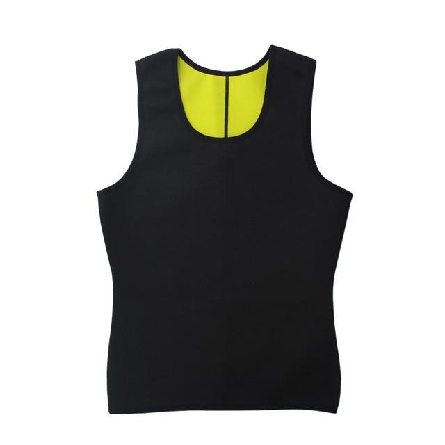 Neoprene Workout Body Natural Weight-Loss Shaper Belt Vest Pant Suit Men Sauna Sweat Vest Belts Shapers Slimming Plus Pants 3