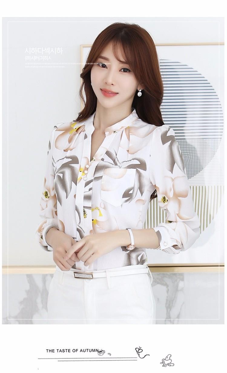 HTB1JL8oNVXXXXbIapXXq6xXFXXXD - Autumn Fashion Blouse Office Work Wear shirts Women Tops