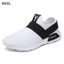 2018 Hot Sales Men Casual Shoes Mens Style Breathable Mesh Top Fashion Flat Youth Shoes