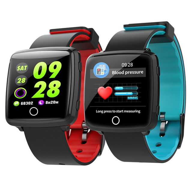 SMARTWATCH BL89 Color Screen Smart Watch Bracelet Heart Rate Wristband  Pedometer GPS Fitness Tracker Bluetooth 4.0 Sports Band ac50c97bd32