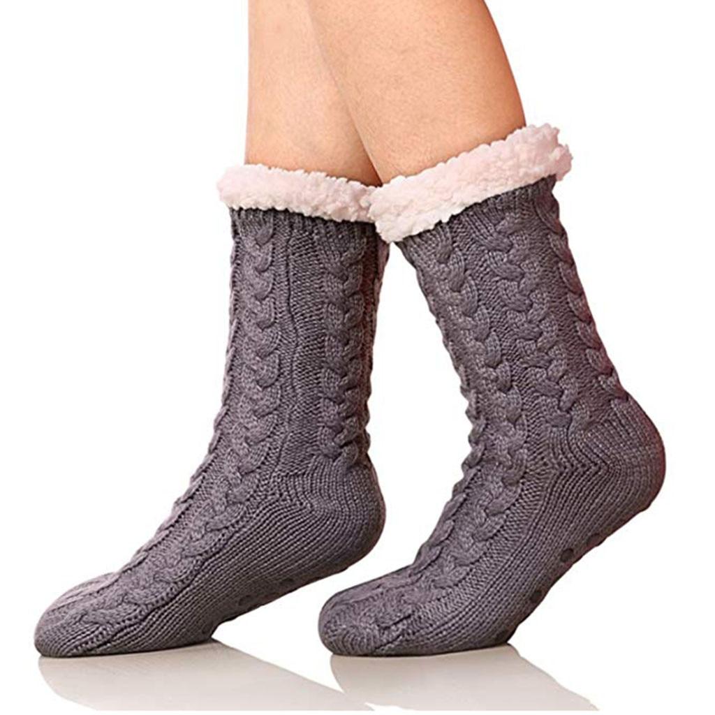 HTB1JL9ka6zuK1RjSsppq6xz0XXai - Womail Women and man Wool socks Winter Super Soft