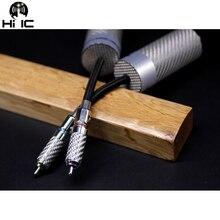 1 pièce de haute qualité XLR RCA câble fil filtre purificateur HiFi Audio filtre de bruit