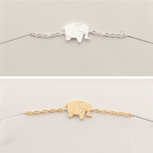 GORGEOUS TALE Elephant Bracelet Anklet Cut Dainty Chain Custom Handmade Jewelry Wedding Bridesmaid Travel Birthday Gift Women