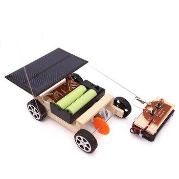 Solar Power Wireless RC Car Toy 2