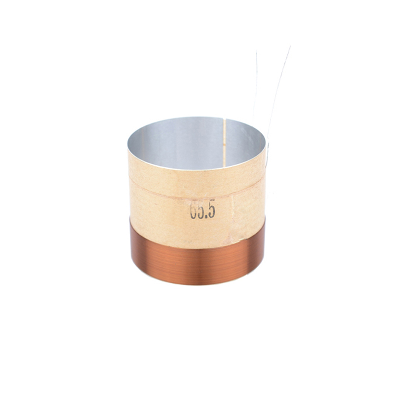 2pcs 65.5mm 65.5 Core 8ohm Bass Voice Coil ASV White Aluminium Woofer Sound Drive Speaker Repair Parts|Speaker Accessories| |  - title=