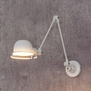 Image 5 - לופט בציר תעשייתי jielde ארוך זרוע מתכוונן מנורת קיר זכרונות נשלף E14 LED קיר אורות לחדר שינה סלון