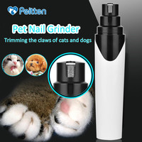 Rechargeable Dog Cat Electric Claw Nail Grooming Tool Pet Toenail Paws Grinder Clipper Auto Pedicure Equipment