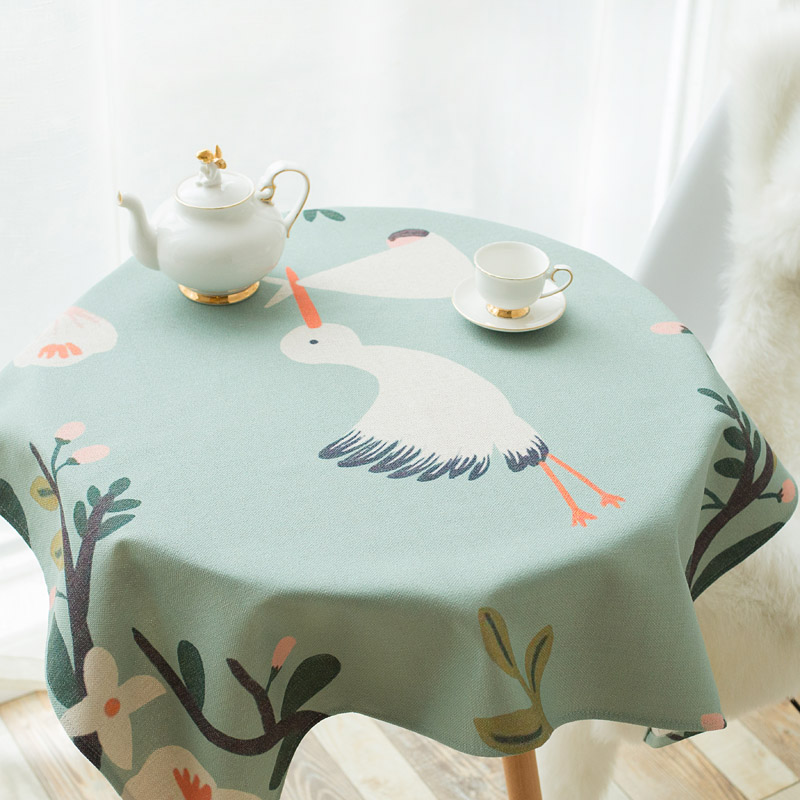 Small Round Table Cloths.Us 27 31 50 Off Fresh Cotton And Linen Tablecloths Pastoral Cloth Dust Cloth Small Round Table Rectangular Dining Table Cloth Cover Cloth In
